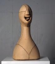 Läderhuvud - Galleri Blanch, 1990