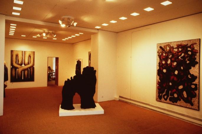 Svart Mamut - Galleri Blanch, 1987