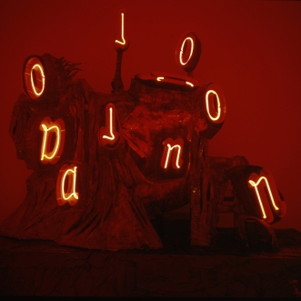 Neonskulptur - Konstepidemin Göteborg, 1992