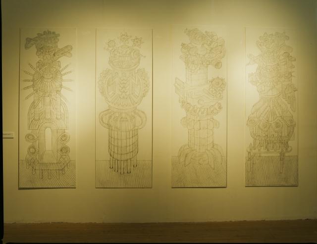 Konstruktioner - Skulpturens Hus, 2007 1x2m
