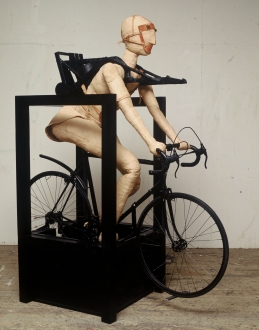 Mekanisk Cyklist - Ystad Konsthall, 1991