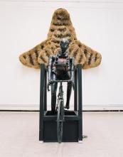 Mekaniskt Cyklist Med Fluga - Konstakademin, 2000